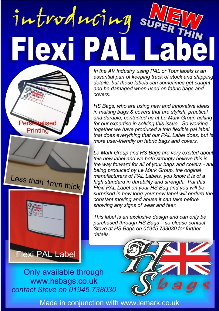 New Flexi Pal Label